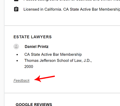 Google Local Services Ads for Attorneys, Financial Planners